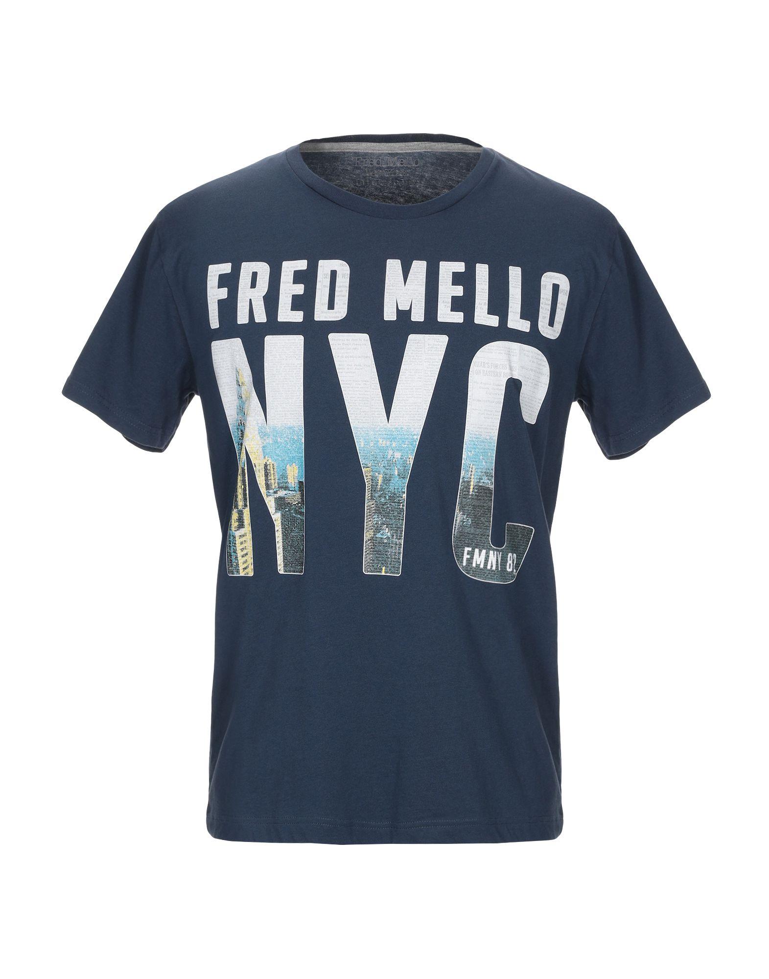 FRED MELLO Футболка fred mello повседневные брюки