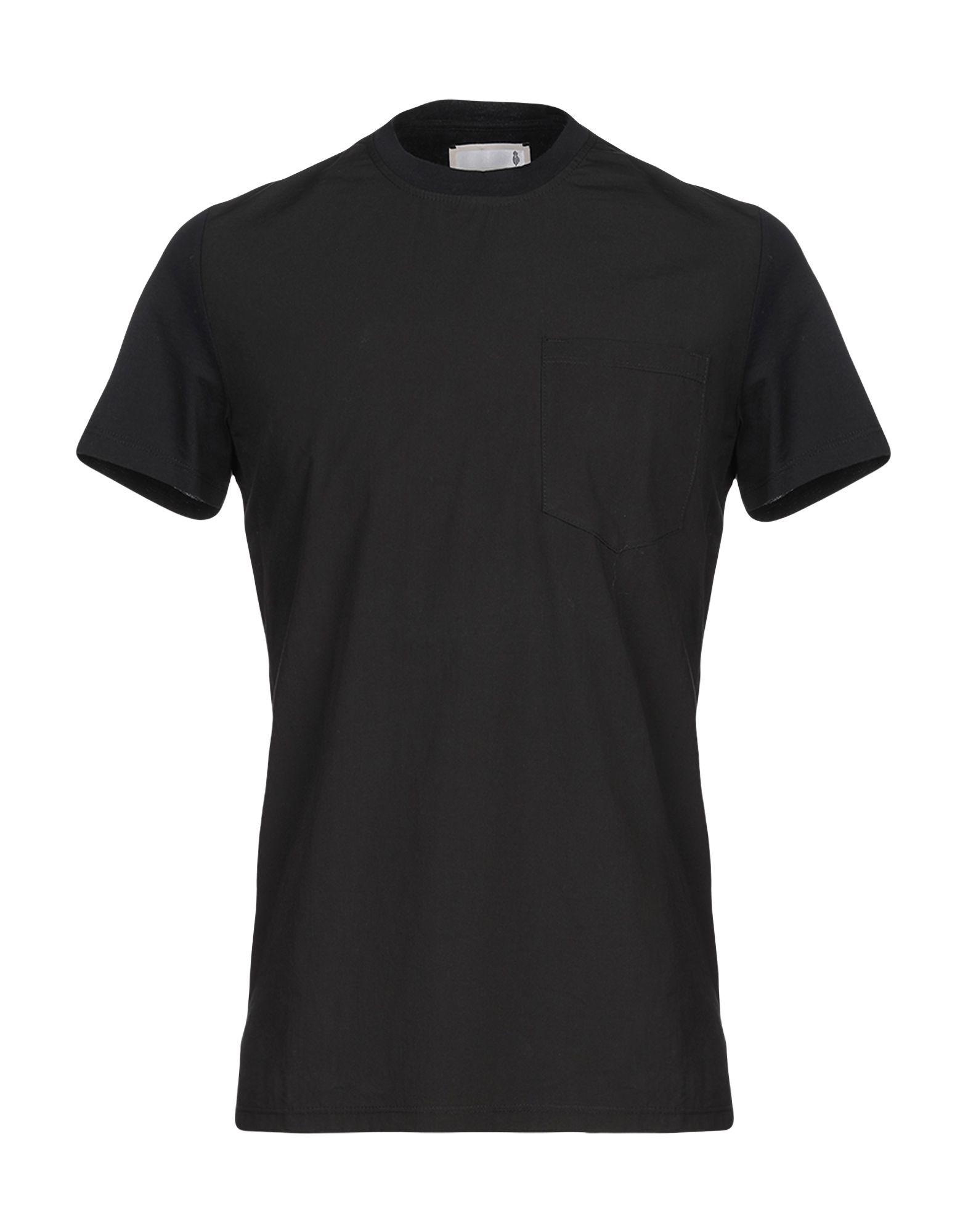 《セール開催中》PMDS PREMIUM MOOD DENIM SUPERIOR メンズ T シャツ ブラック S コットン 100%
