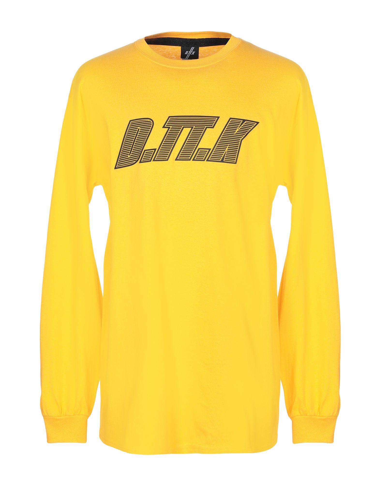 《期間限定セール中》D.TT.K メンズ T シャツ オレンジ L コットン 100%