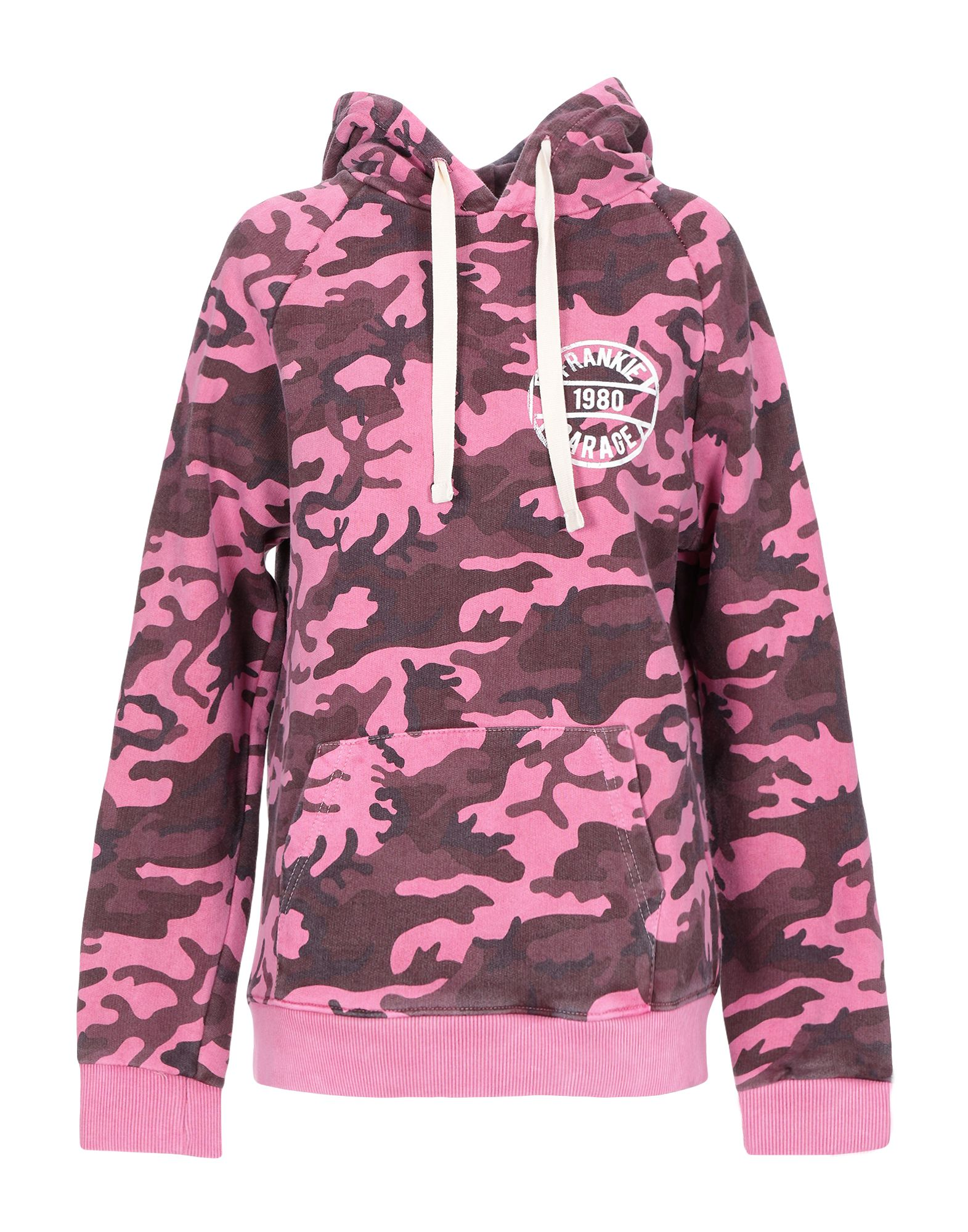 《セール開催中》FRANKIE GARAGE レディース スウェットシャツ ピンク L コットン 100%