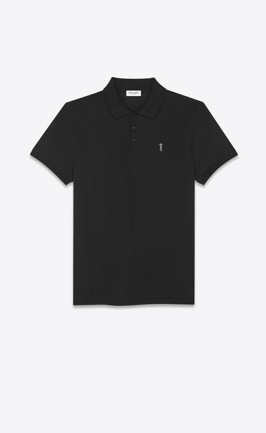 Palm tree Monogram polo shirt