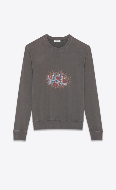 """YSL disco"" sweatshirt"