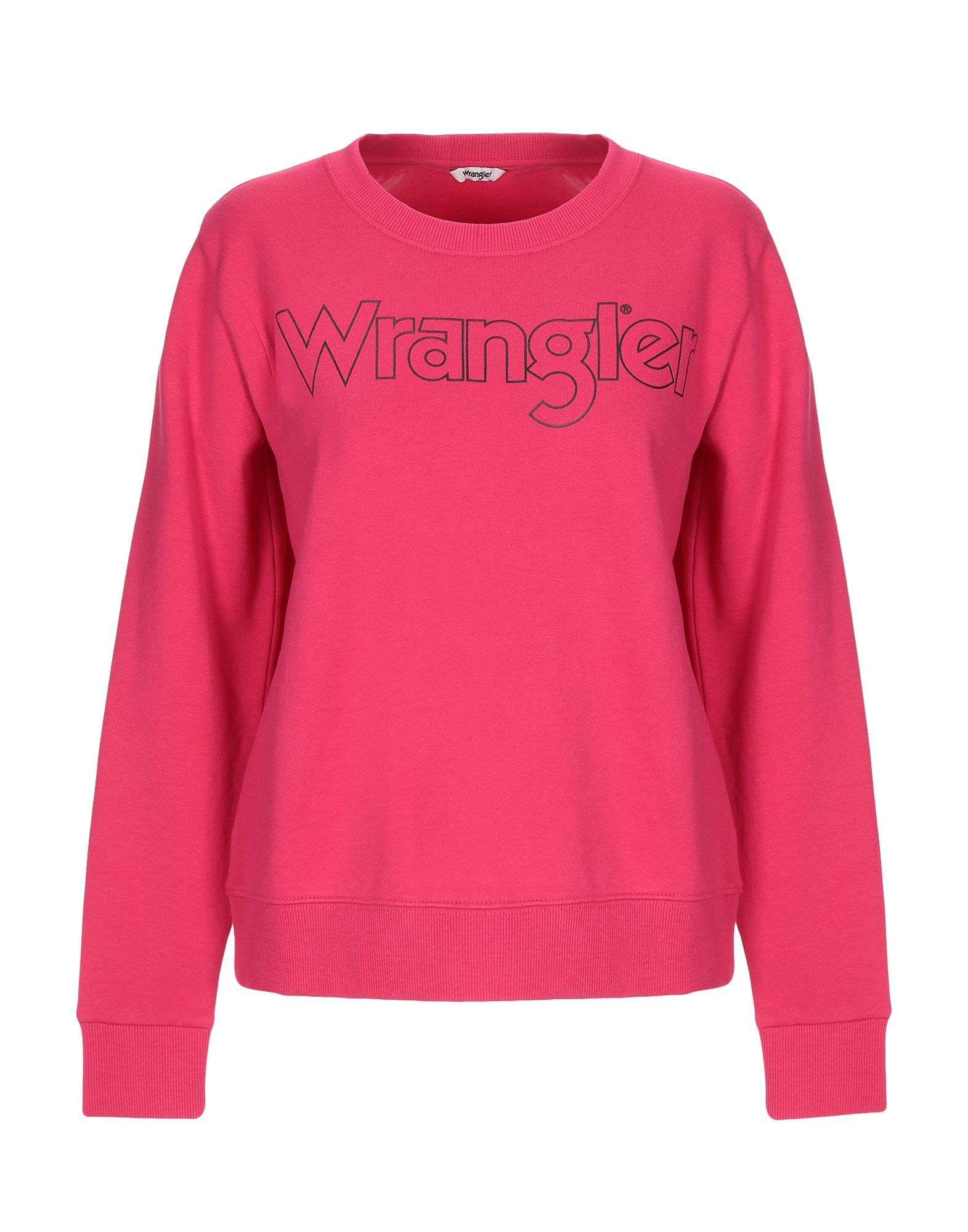 《セール開催中》WRANGLER レディース スウェットシャツ フューシャ XS コットン 100%