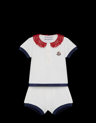 MONCLER POLO WITH BRIEFS - T-shirts with shorts - women