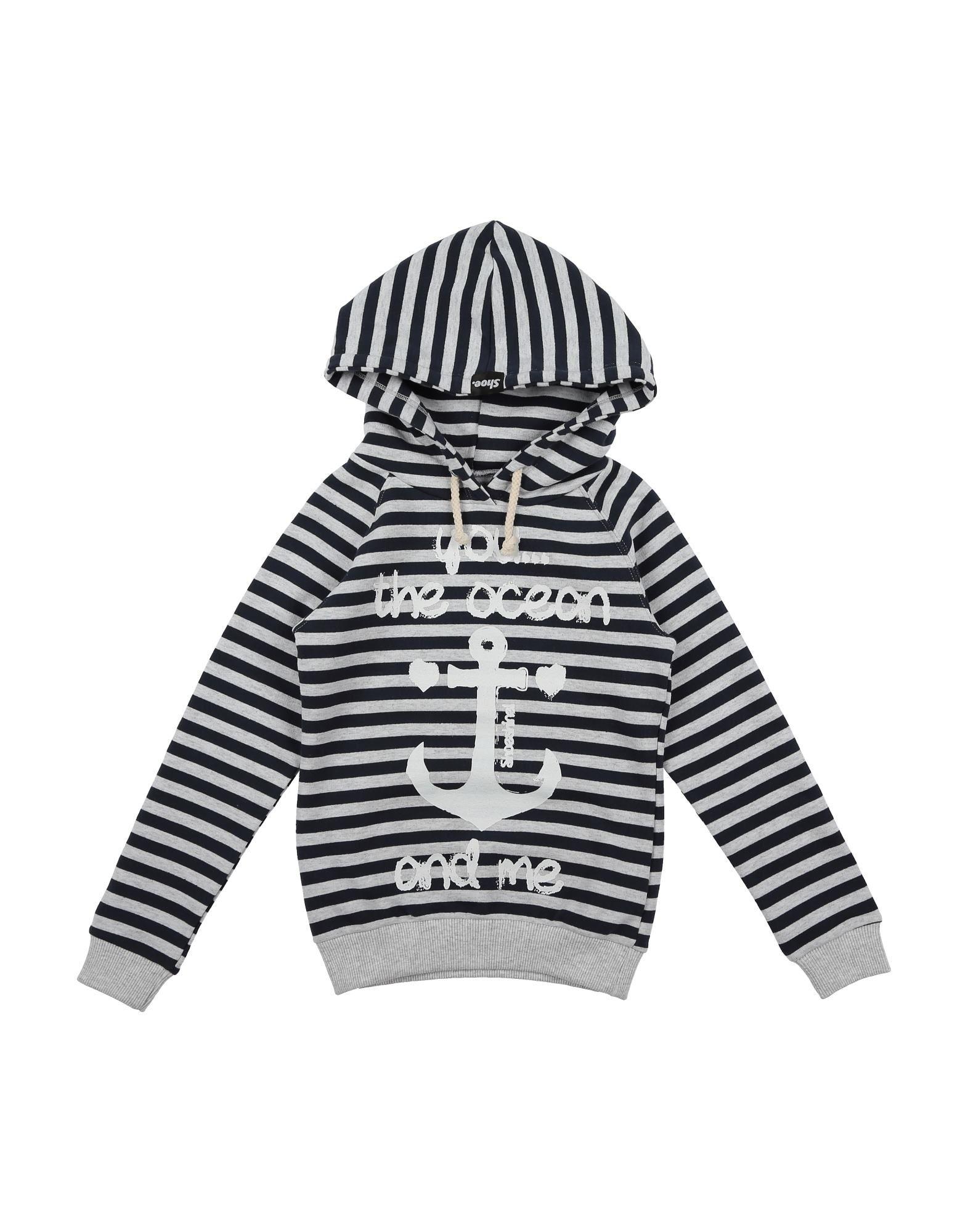 Shoeshine Kids' Sweatshirts In Light Grey