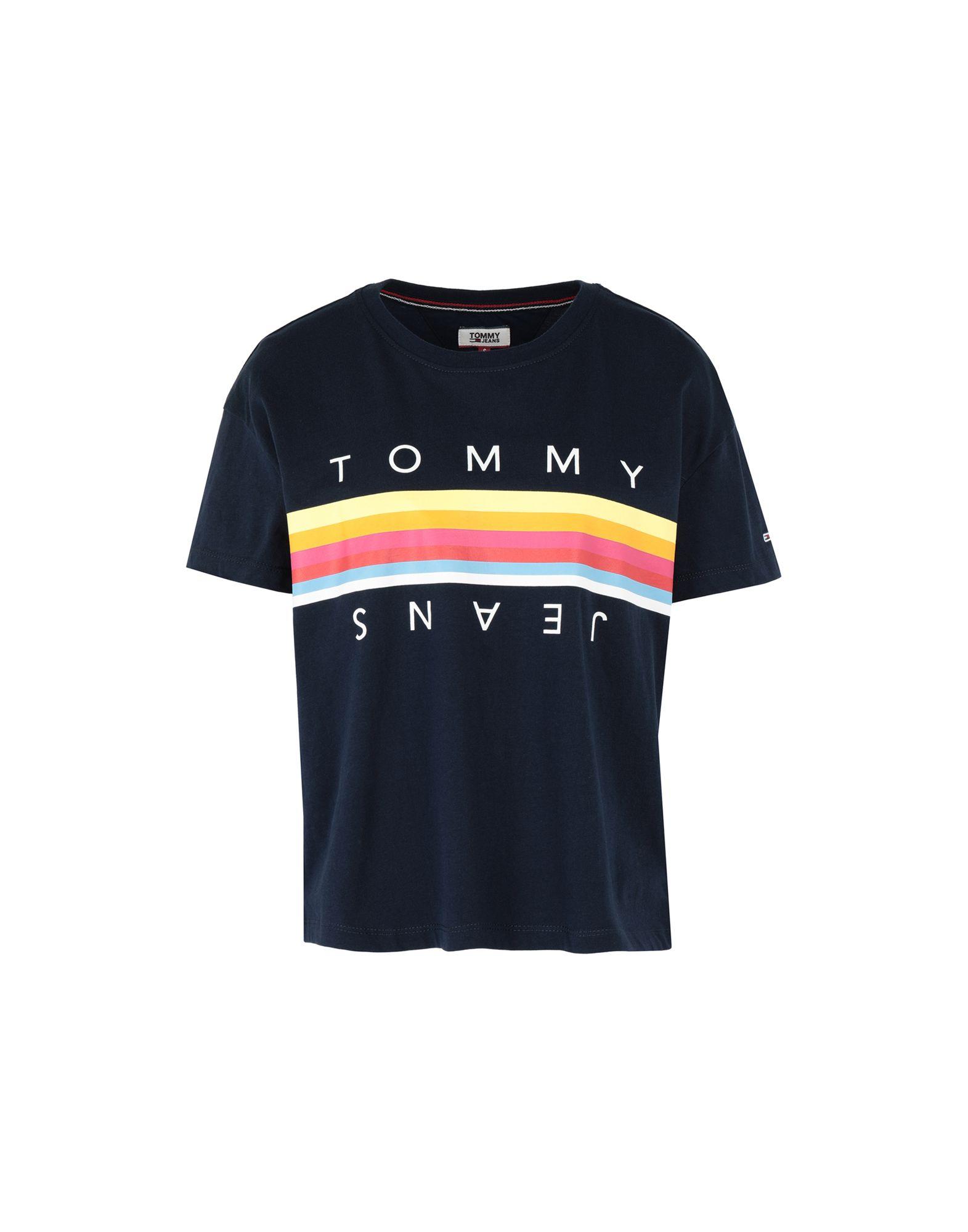 TOMMY JEANS Футболка футболка tommy jeans tommy jeans to052ewbidb7