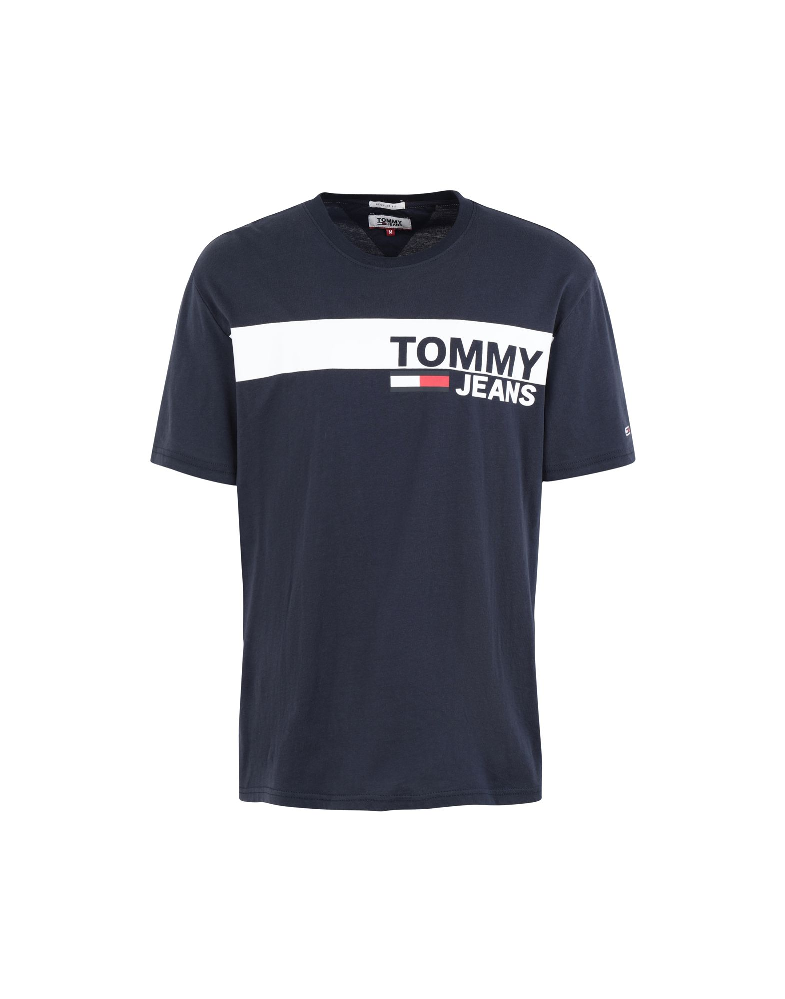 TOMMY JEANS Футболка футболка tommy jeans tommy jeans to052ewaija6