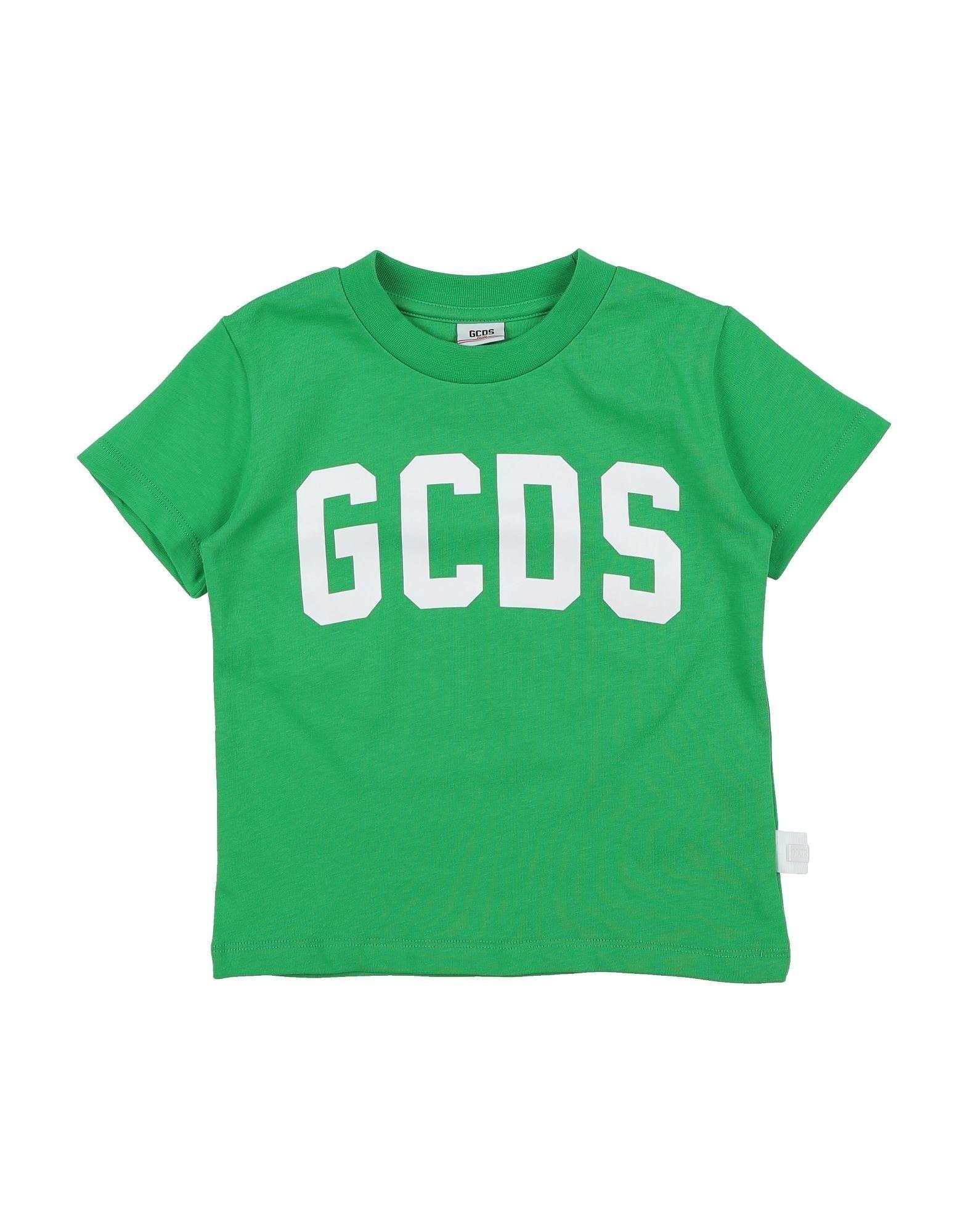 《期間限定 セール開催中》GCDS Mini Unisex T シャツ グリーン 4 コットン 100%