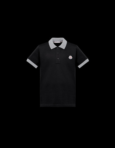 POLO SHIRT Black Kids 4-6 Years - Boy Man