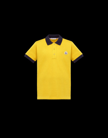 POLO SHIRT Yellow Category Polo shirts Man