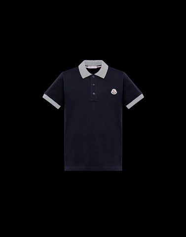 POLO SHIRT Dark blue New in