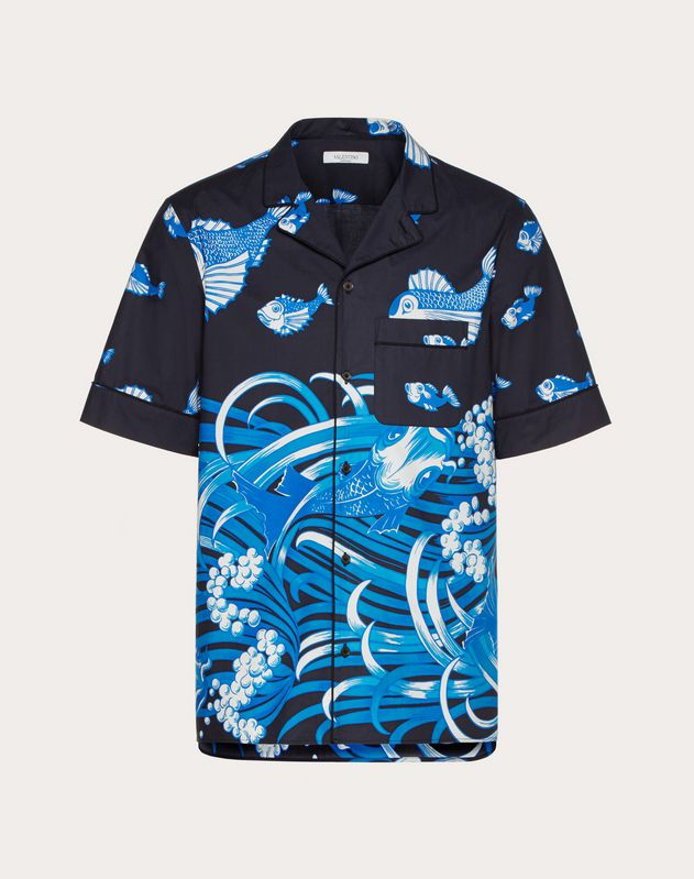 SHORT-SLEEVE FISHRAIN SHIRT