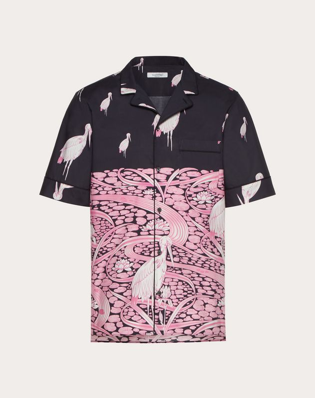 SHORT-SLEEVE JAPANESE POND SHIRT
