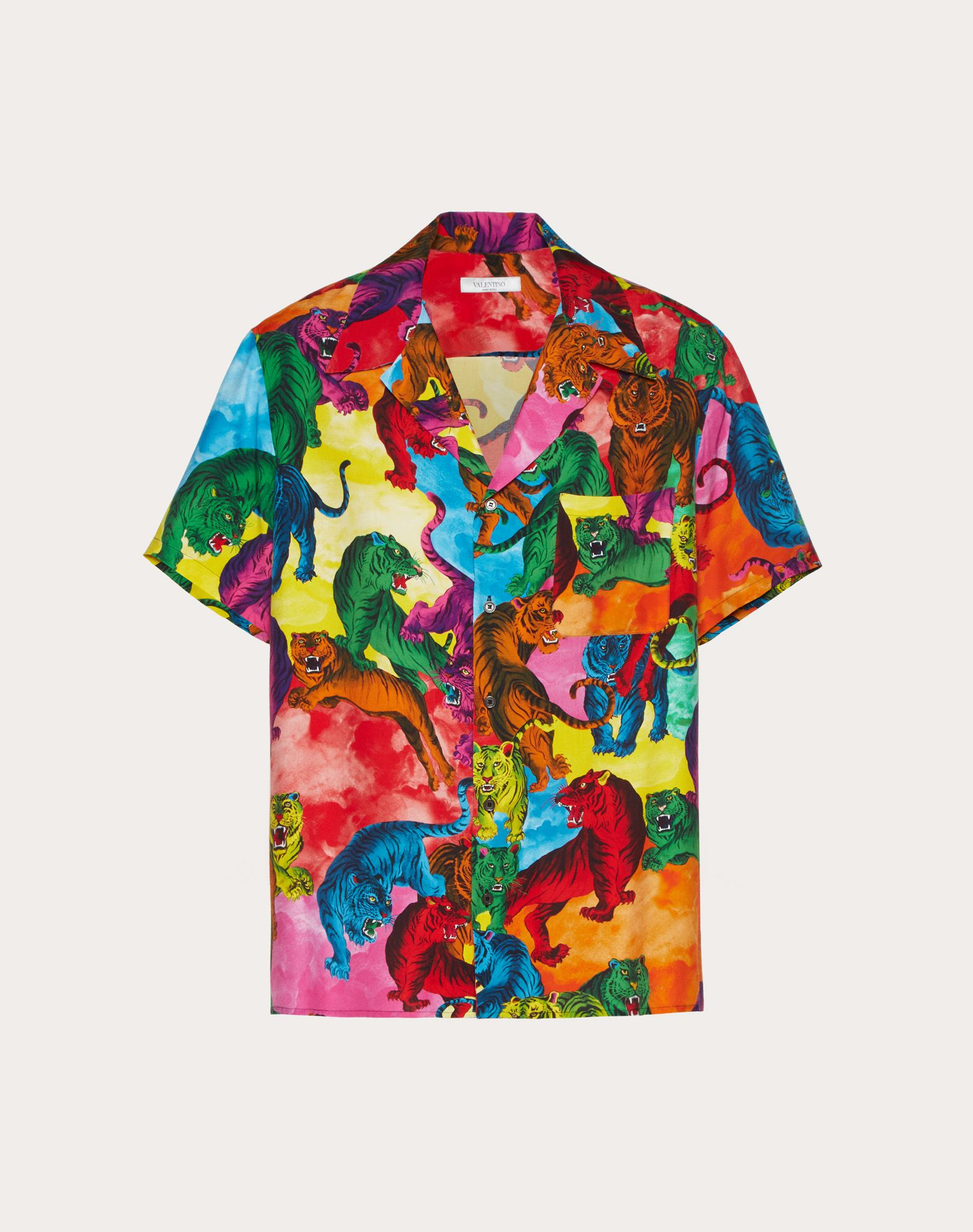 SHORT-SLEEVE GO TIGER VISCOSE SHIRT