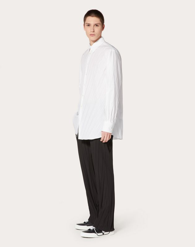 OVERSIZED PLEATED SHIRT