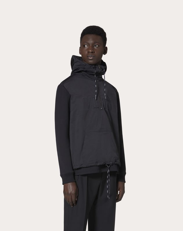 VLTN HOODED SWEATSHIRT