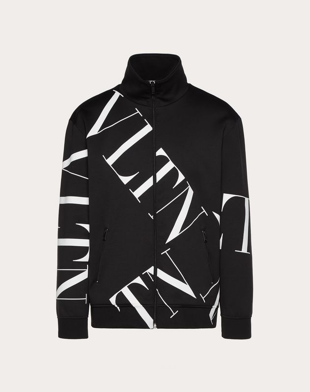 SWEAT-SHIRT ZIPPÉ VLTN MACROGRID