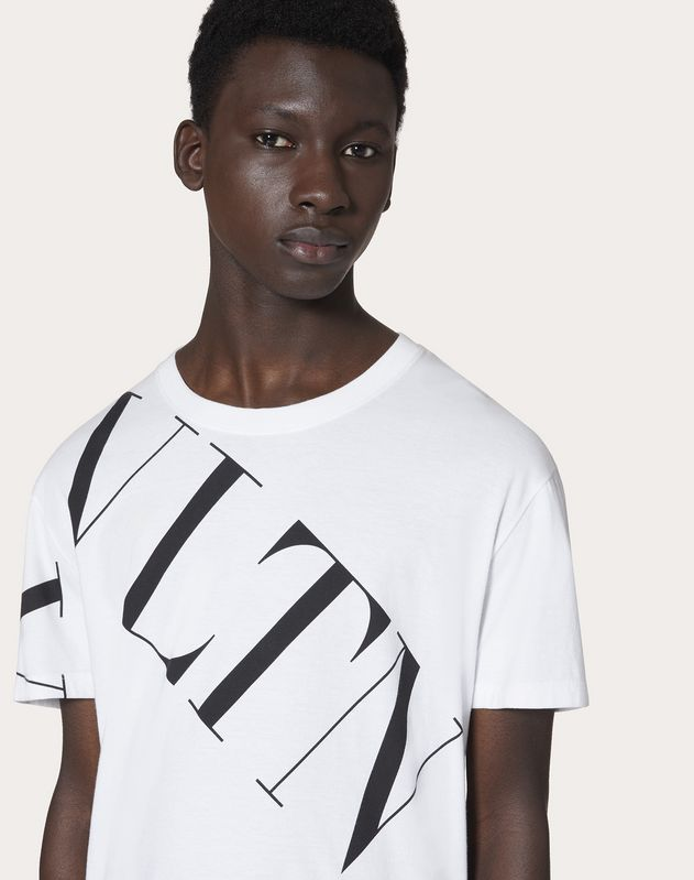 T-SHIRT WITH VLTN MACROGRID