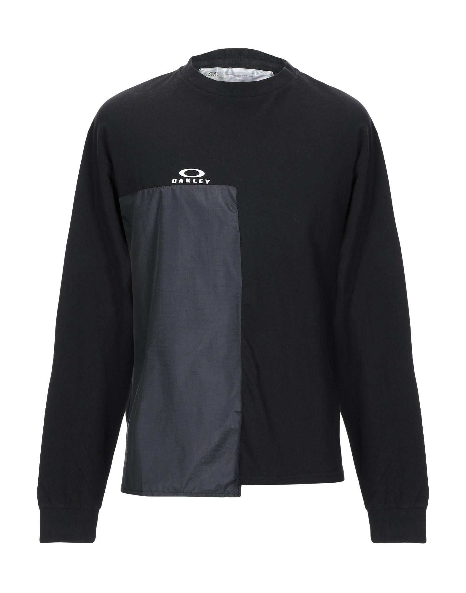 《期間限定セール中》OAKLEY メンズ T シャツ ブラック M コットン 100%