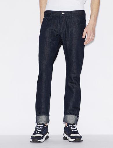 Armani Kleding.Heren Kleding Armani Exchange A X Mens Low Rise Skinny Leg Linen