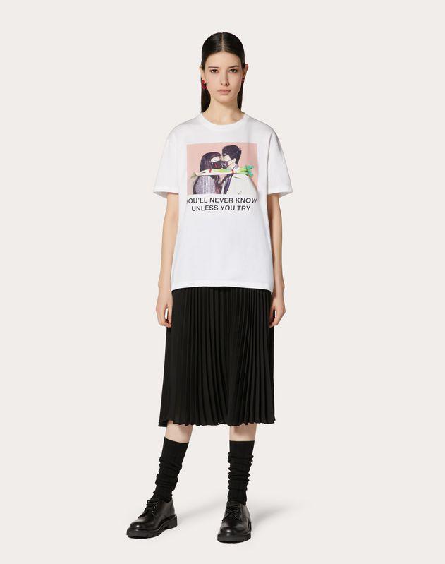 T-shirt with Izumi Miyazaki print