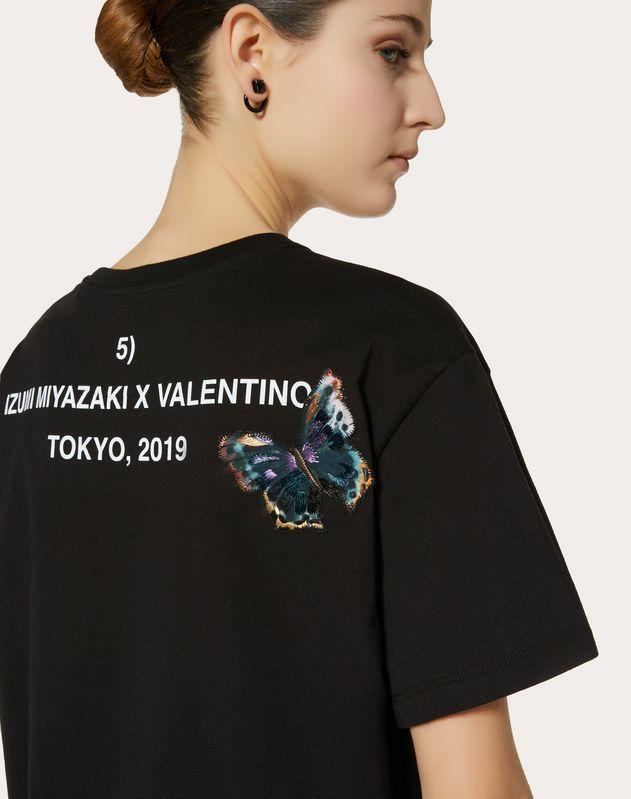 T-shirt with Izumi Miyazaki print and embroidery