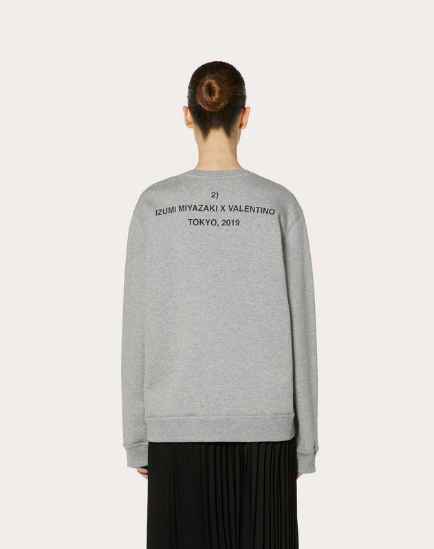 Sweatshirt with Izumi Miyazaki print