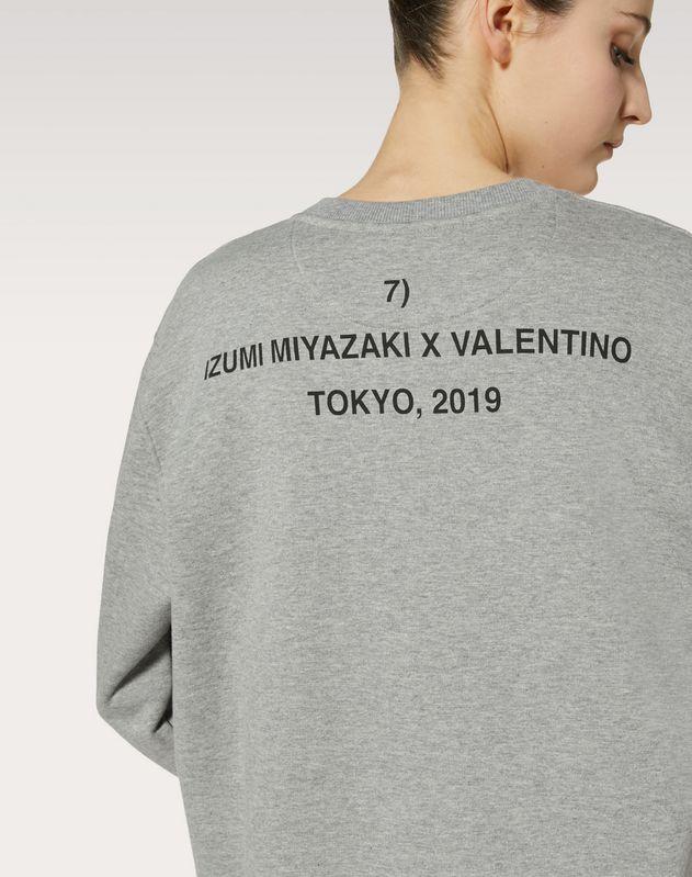 Felpa stampa Izumi Miyazaki
