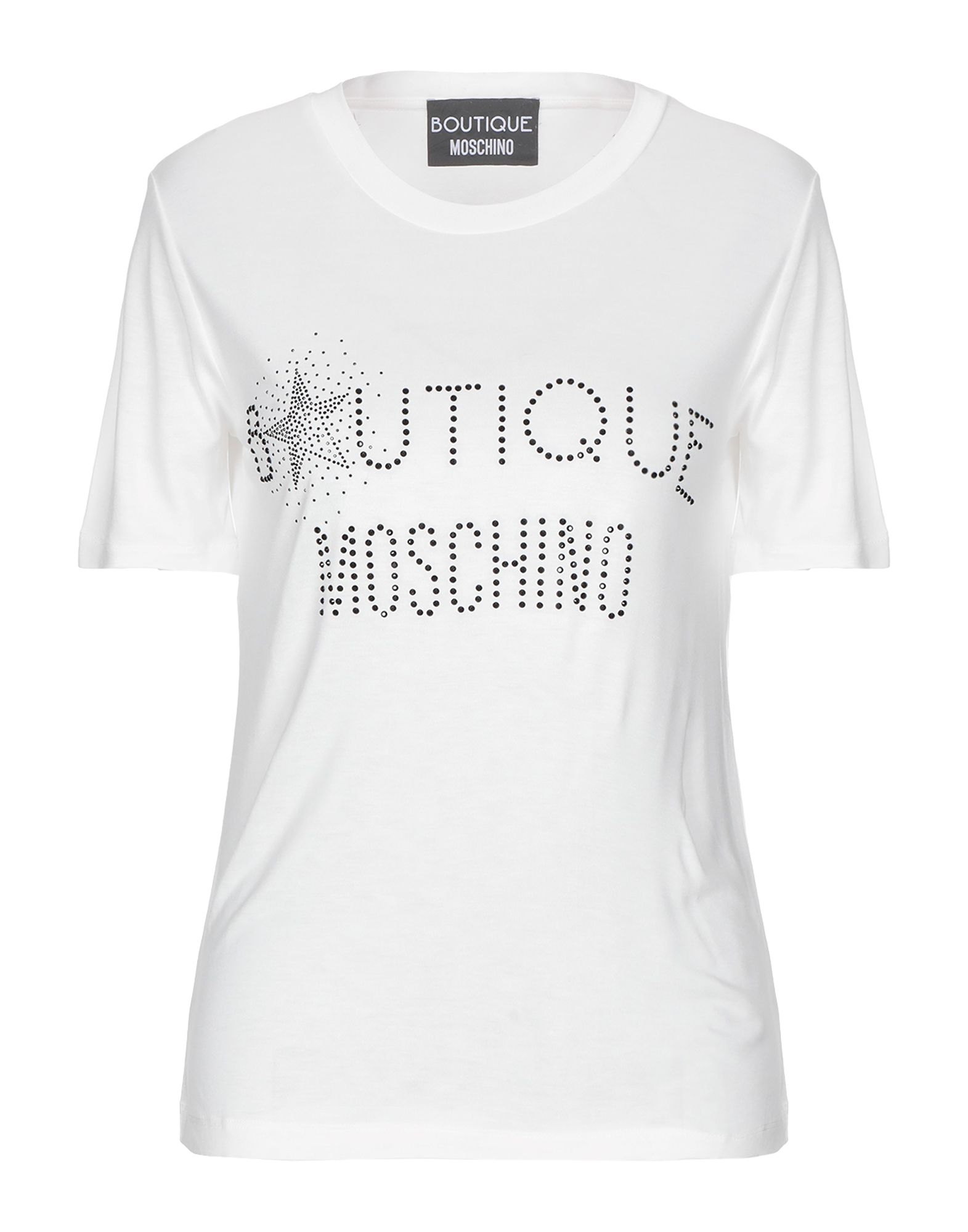 BOUTIQUE MOSCHINO Футболка джемпер boutique moschino boutique moschino bo036ewdreb5