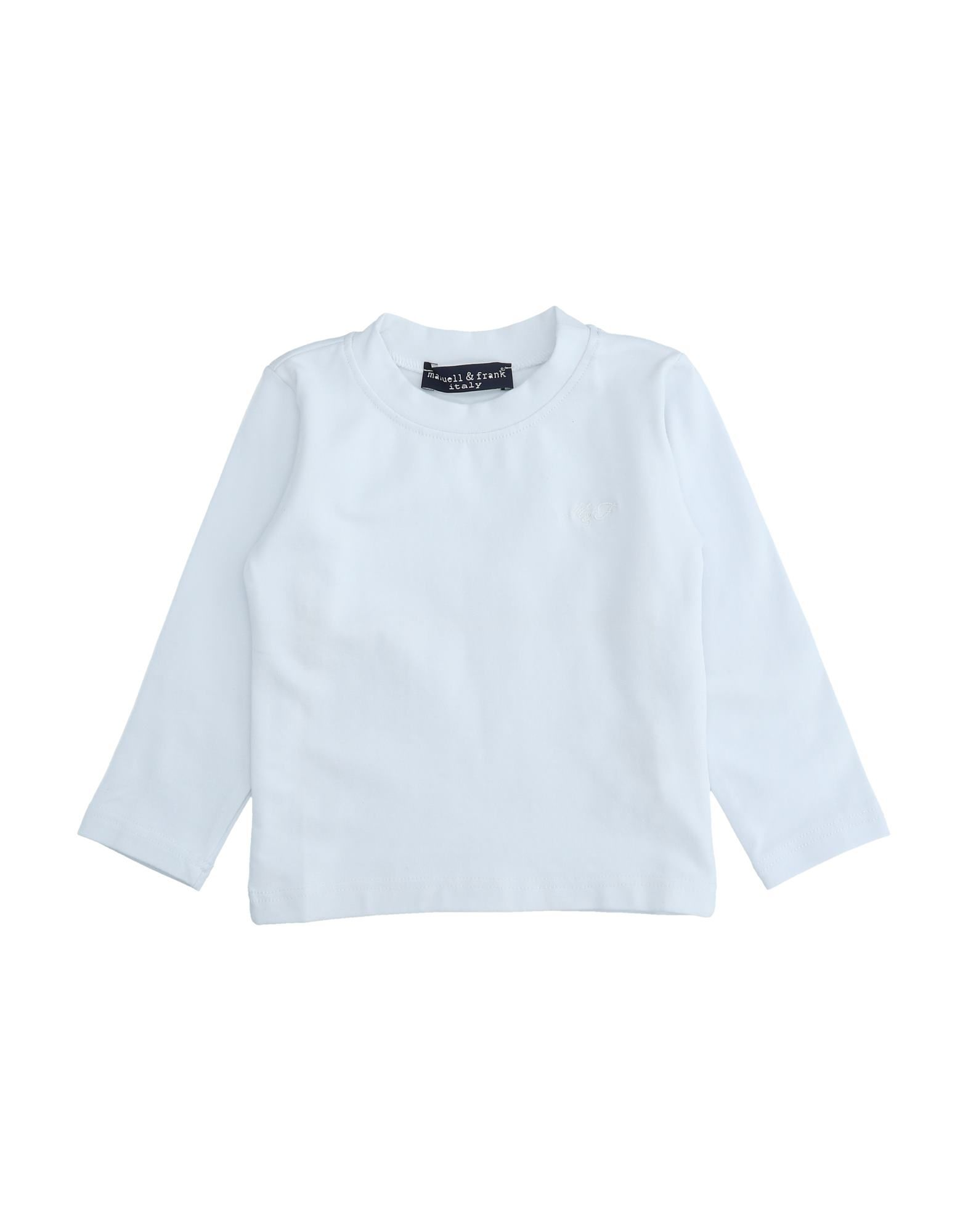 Manuell & Frank Kids' T-shirts In White