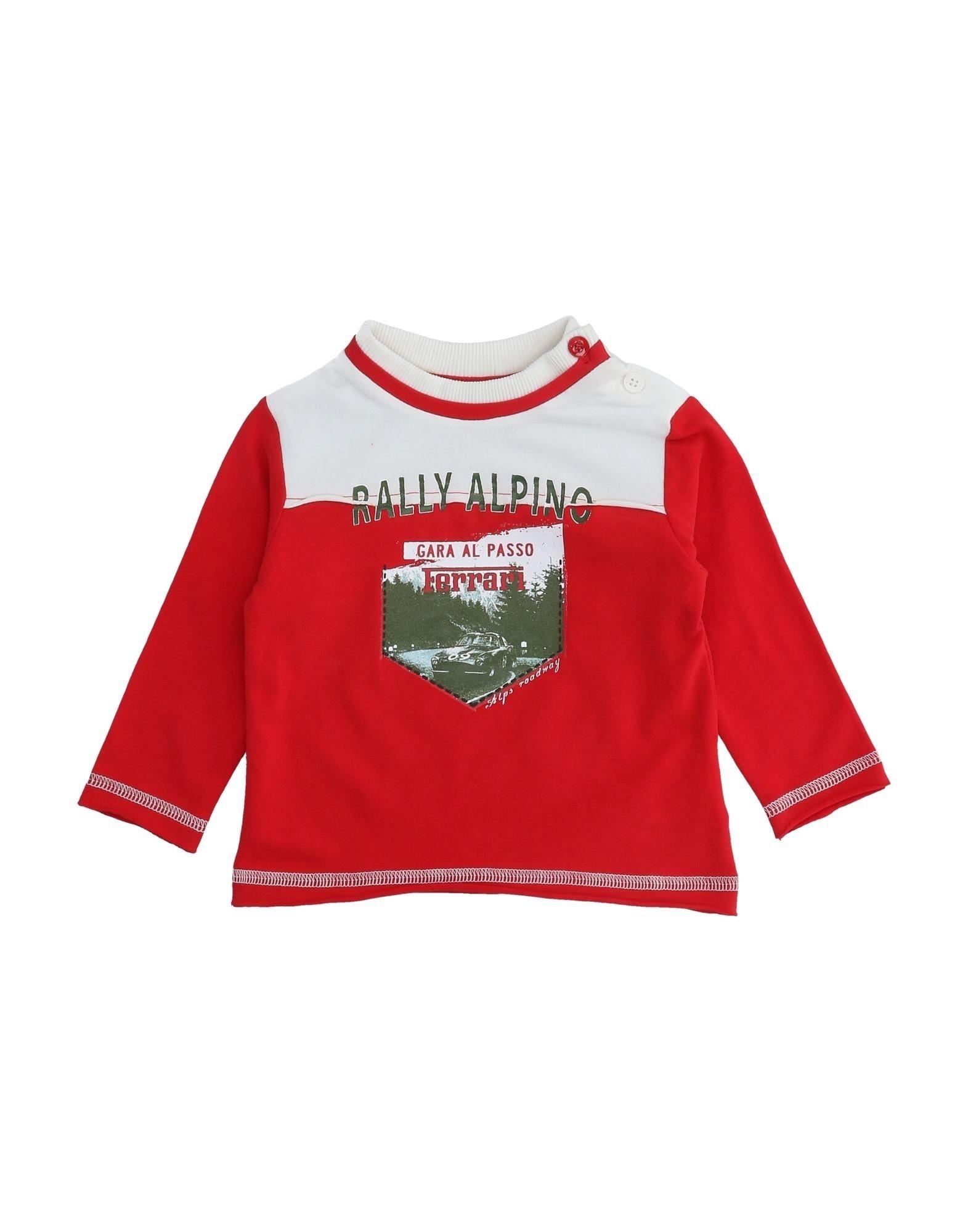 Ferrari Kids' T-shirts In Red