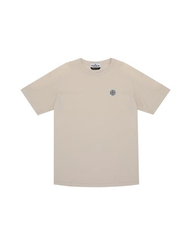 STONE ISLAND JUNIOR Short sleeve t-shirt Man 20646  f