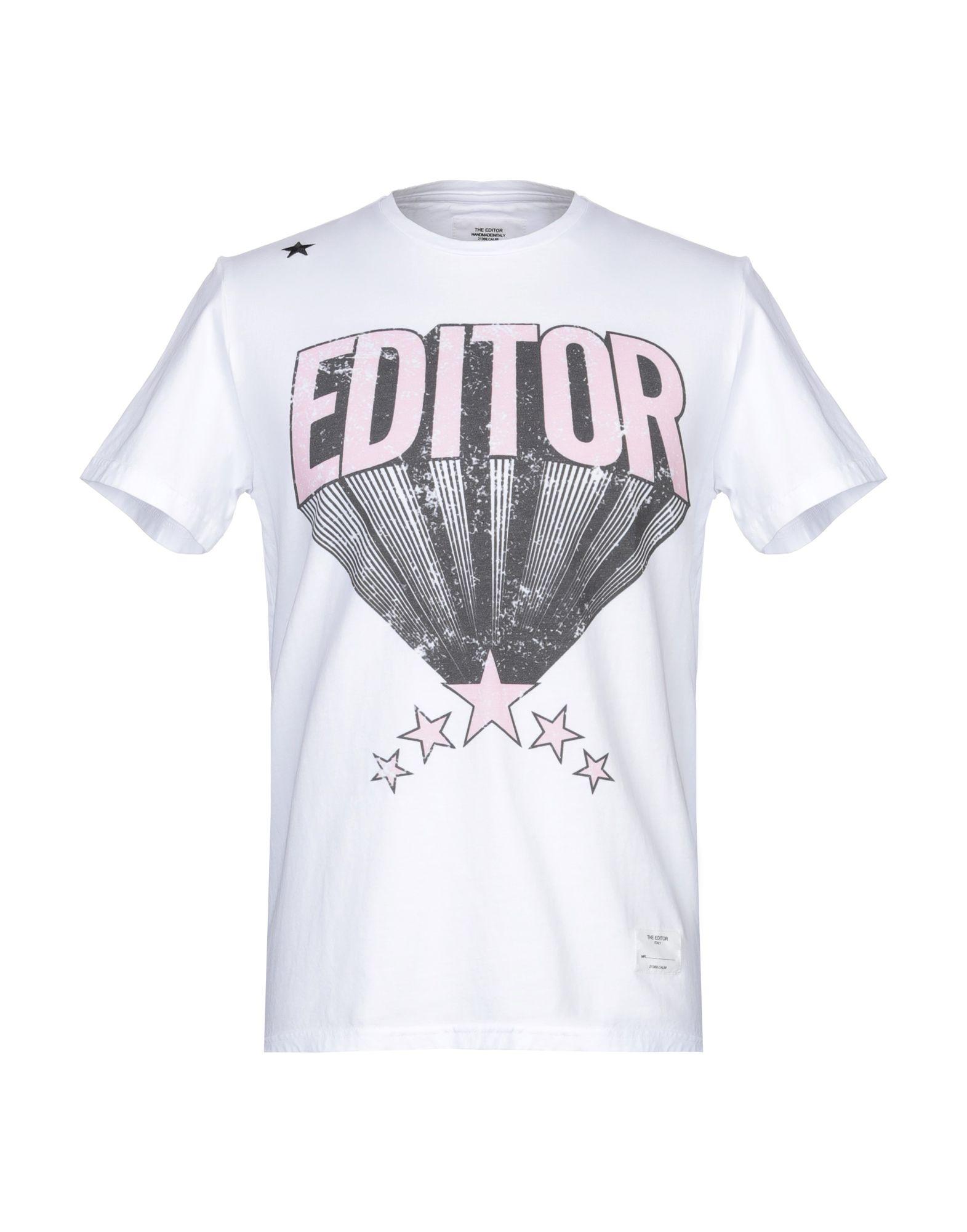 THE EDITOR Футболка the editor футболка