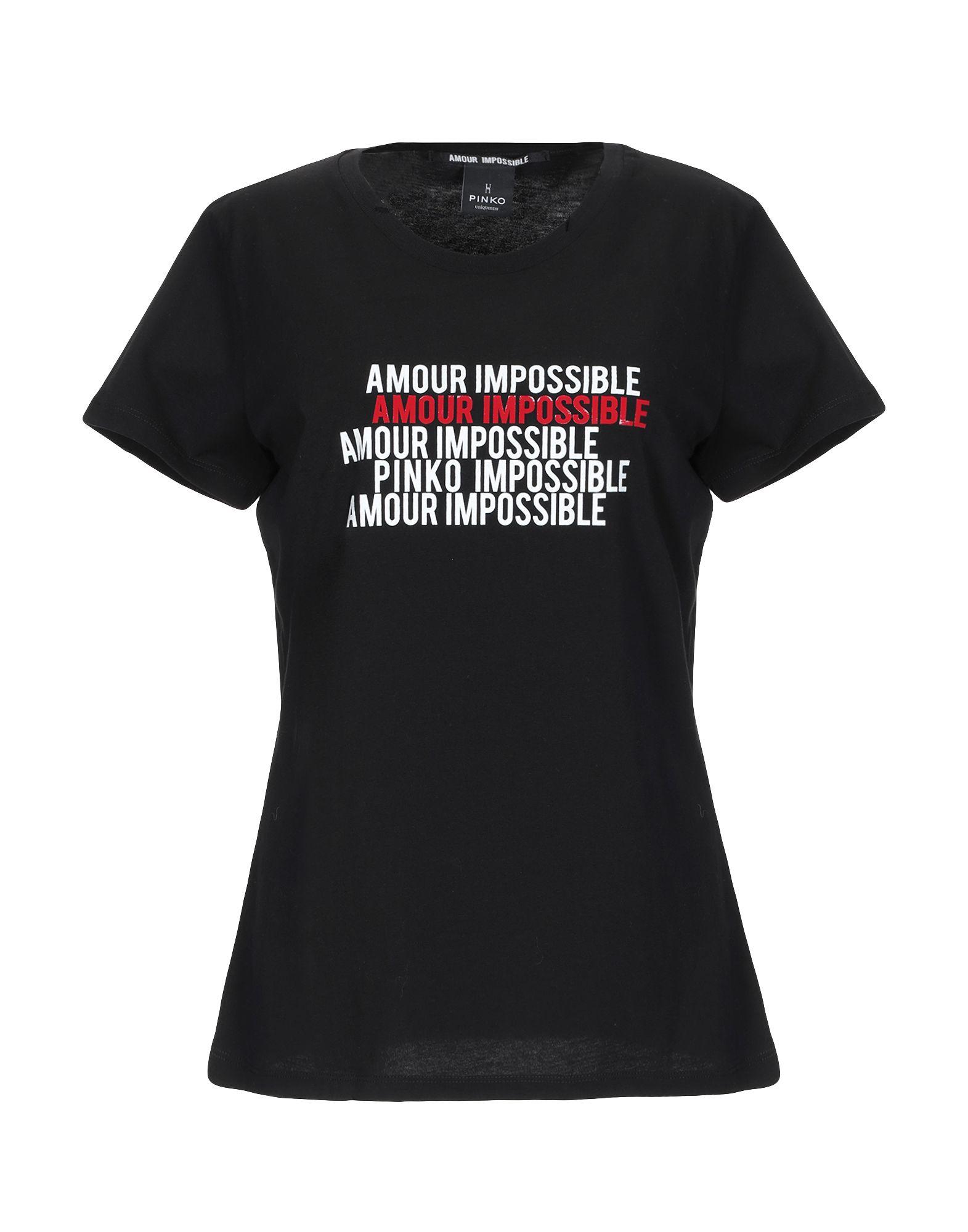PINKO UNIQUENESS Футболка футболка pinko pinko pi754ewukm10
