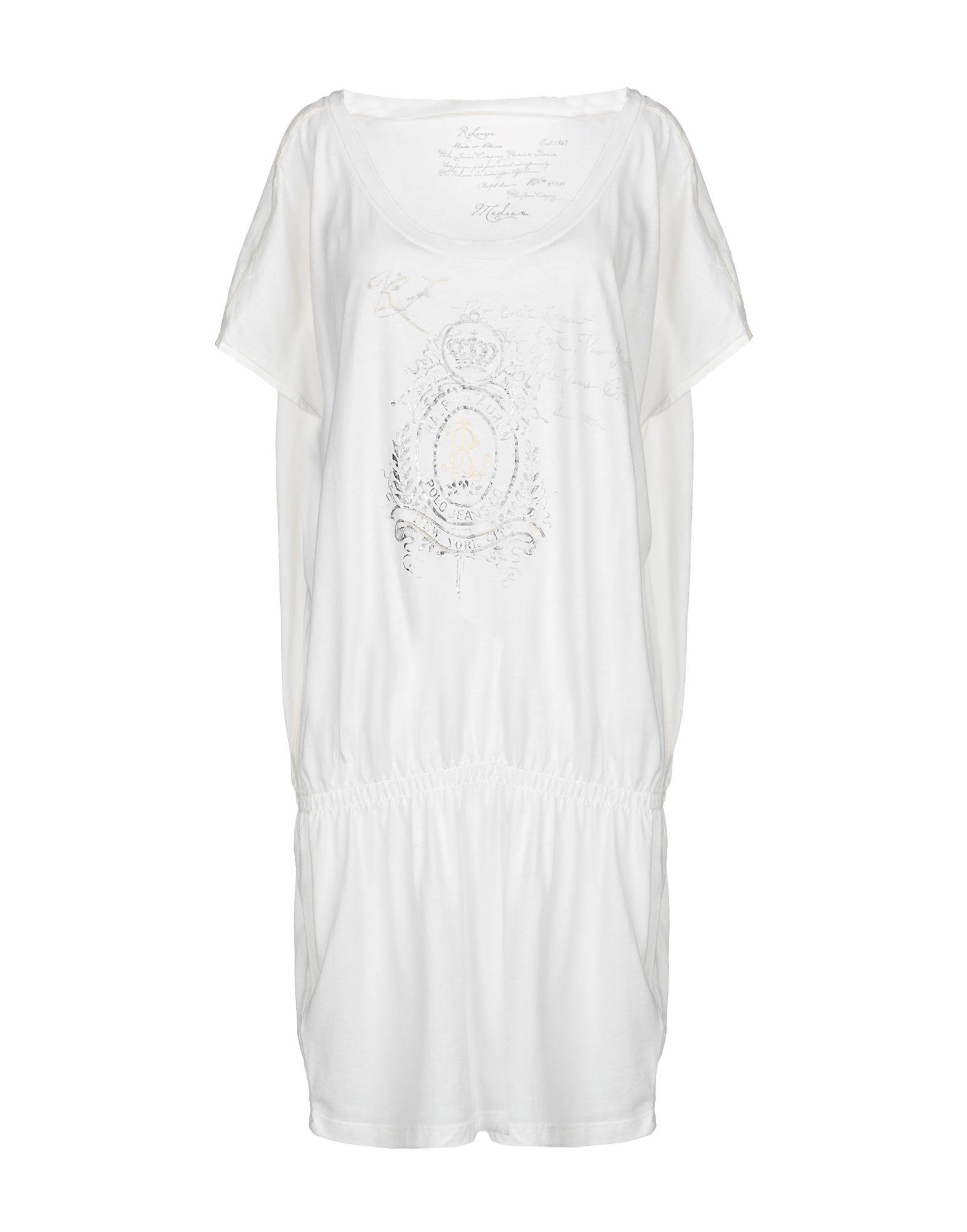 POLO JEANS COMPANY Короткое платье цена
