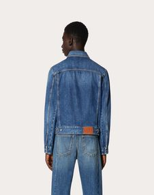 VLTN DENIM BLOUSON WITH SELVEDGE