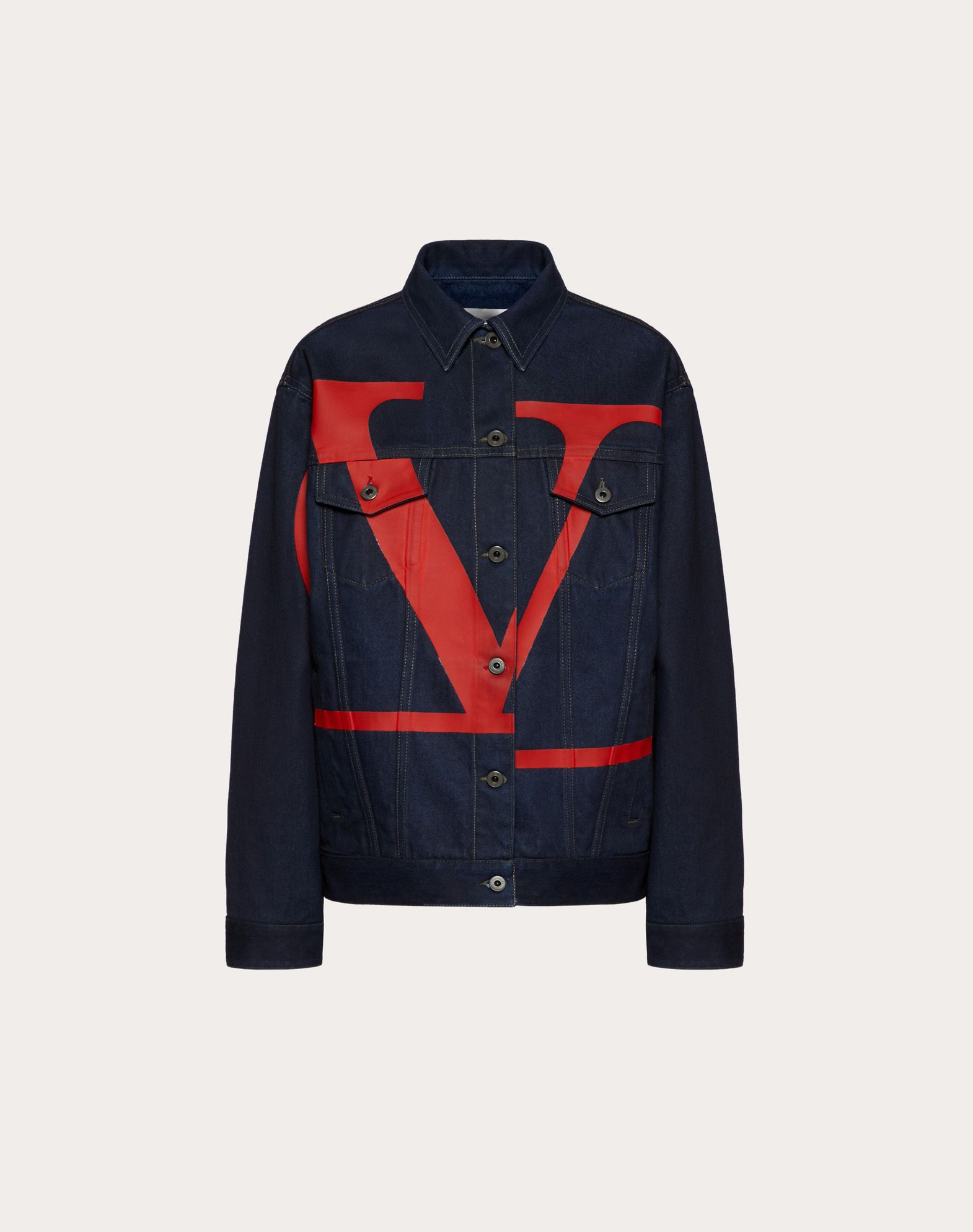 VLOGO DENIM JACKET