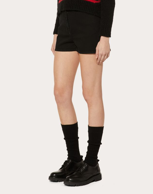 VLTN DENIM SHORTS