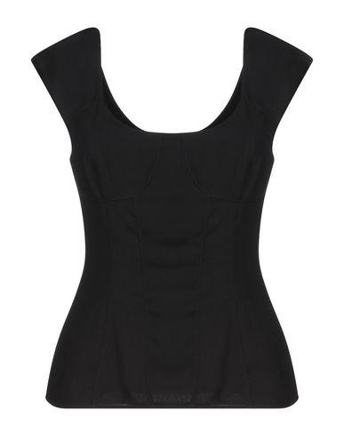 Купить Топ без рукавов от LES COCKTAILS DE LIU •JO черного цвета