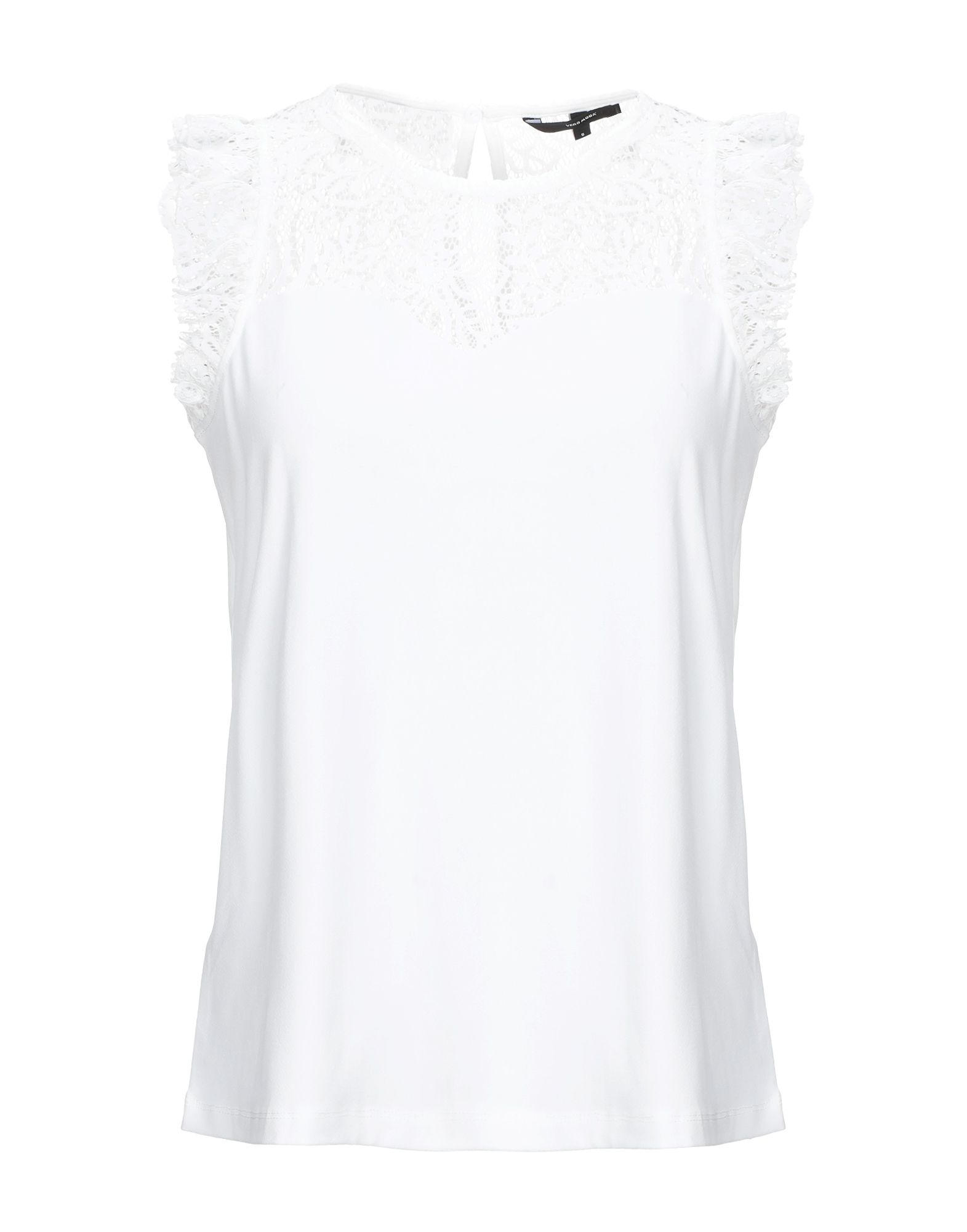 VERO MODA Топ без рукавов блуза vero moda vero moda ve389ewbwwt1