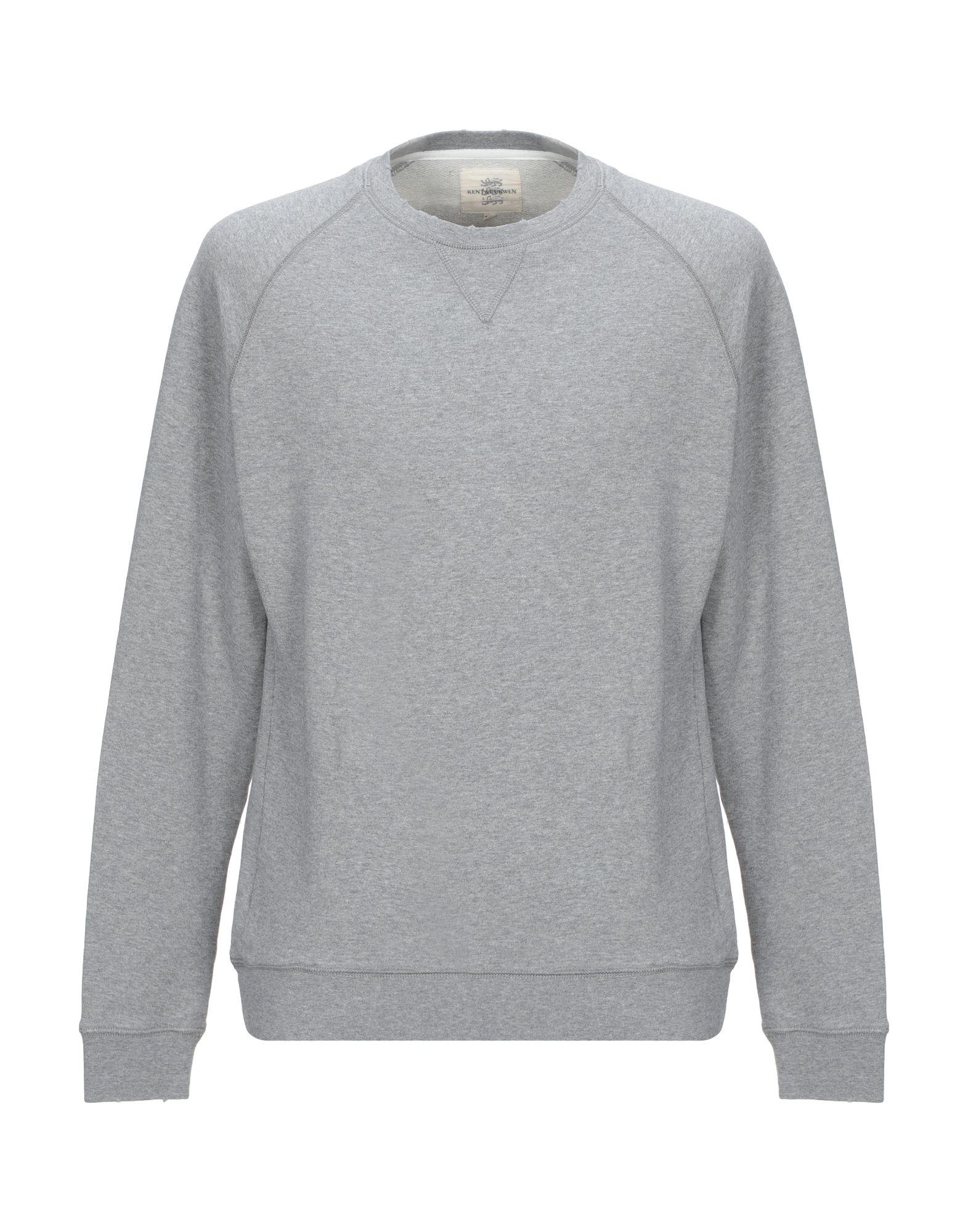 《期間限定セール中》KENT & CURWEN メンズ スウェットシャツ グレー M コットン 100%