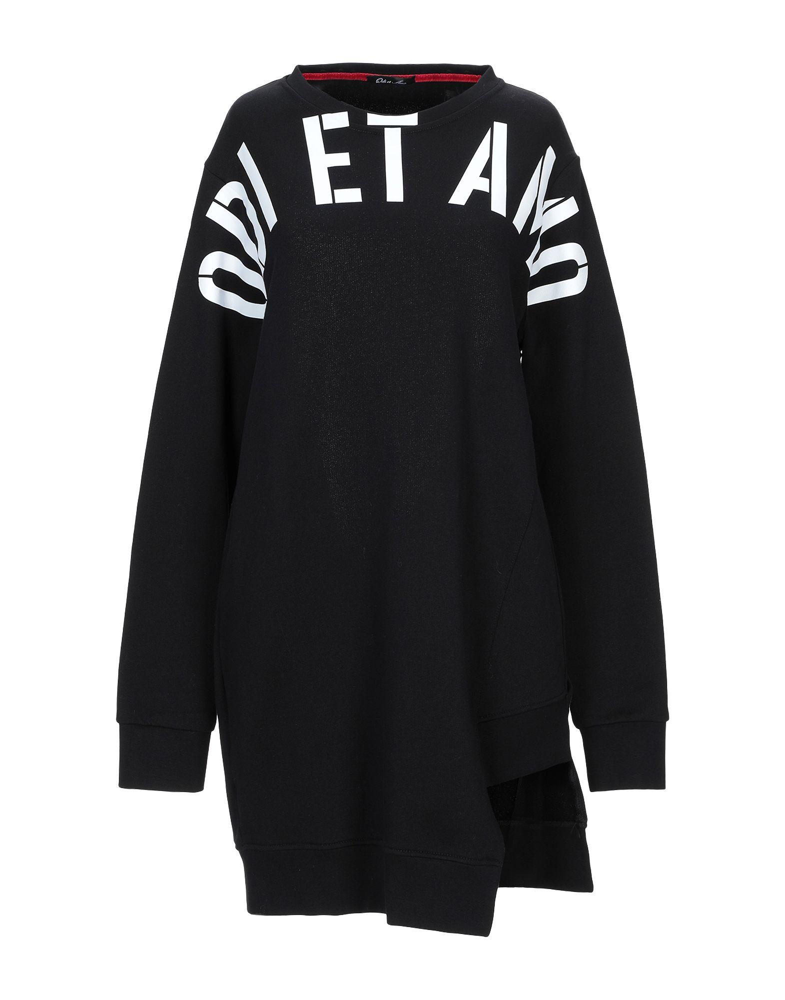 《期間限定セール中》ODI ET AMO レディース スウェットシャツ ブラック XS コットン 100%
