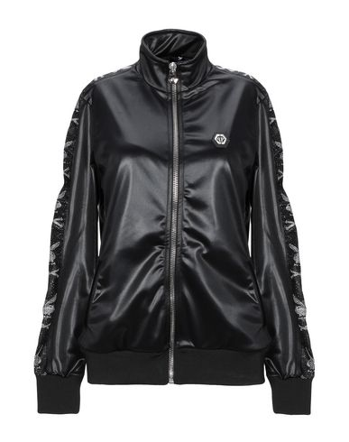Фото - Женскую куртку PHILIPP PLEIN x PLAYBOY черного цвета