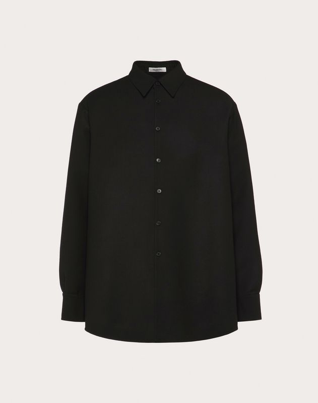 SEMI OVERSIZED DOUBLE-LAYER SHIRT