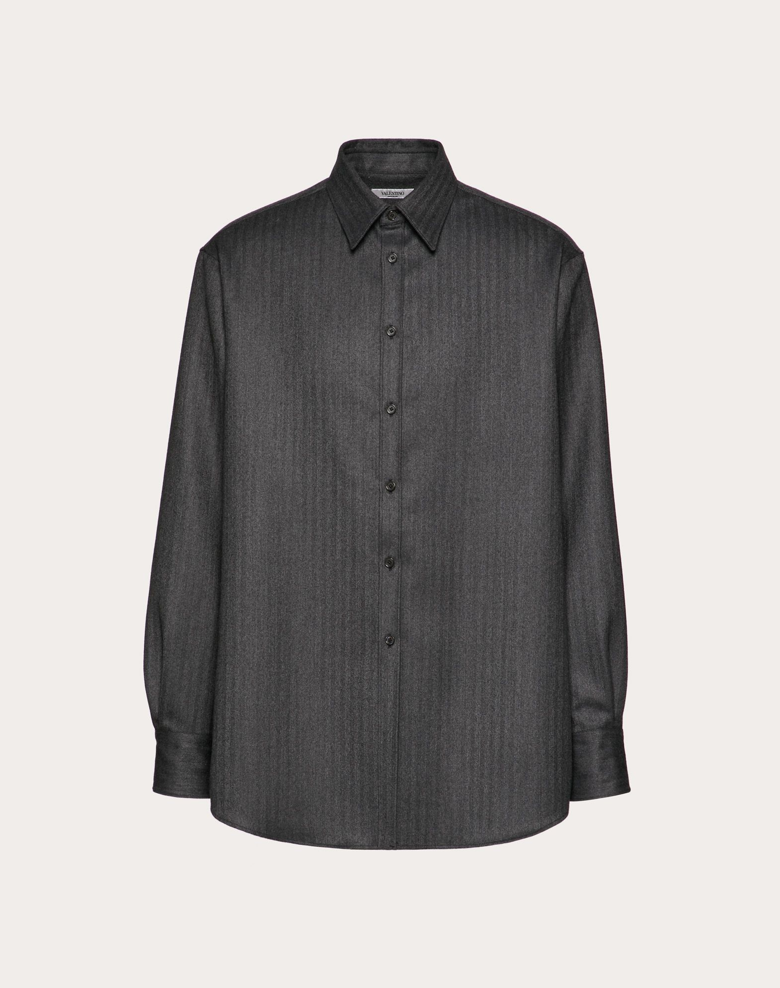 SEMI OVERSIZED WOOL SHIRT
