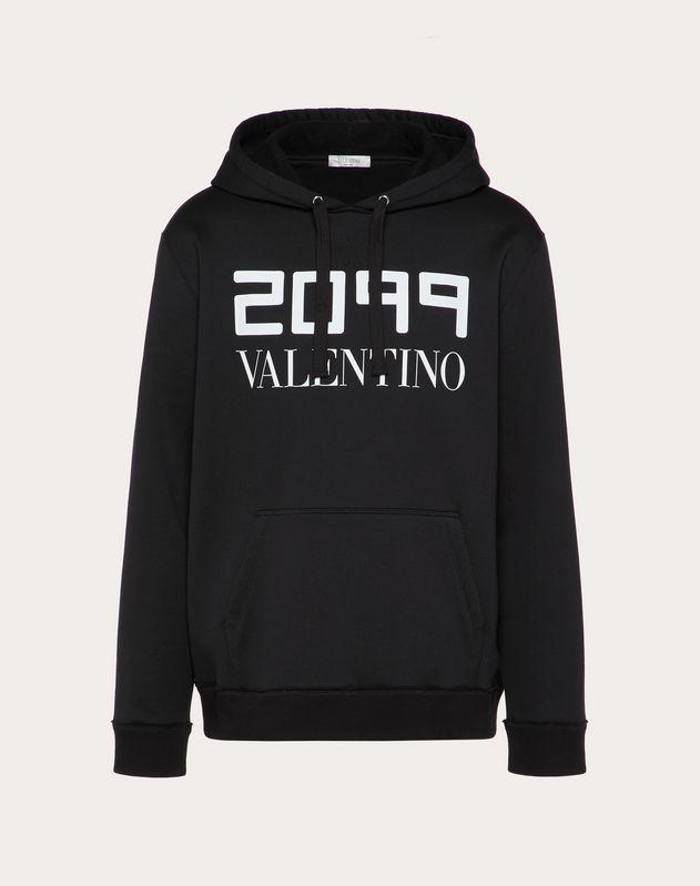 SWEATSHIRT WITH 20199 VALENTINO PRINT