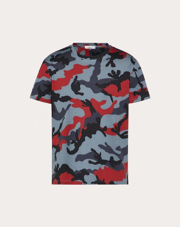 Tシャツ カモフラージュ プリント
