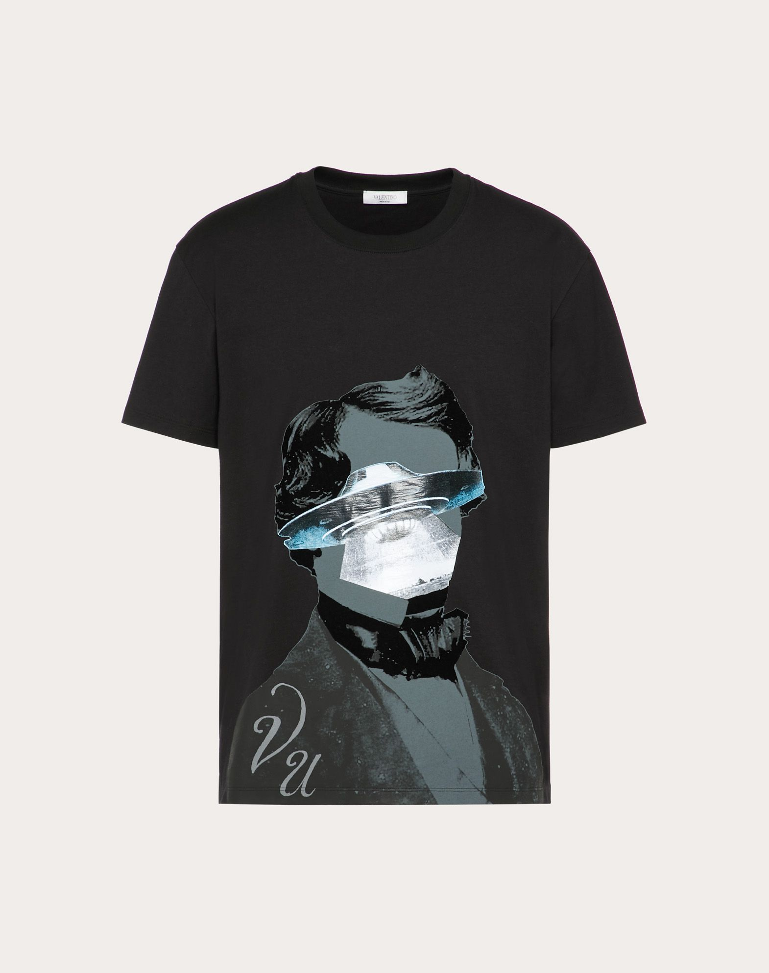 T-SHIRT CON STAMPA V FACE UFO