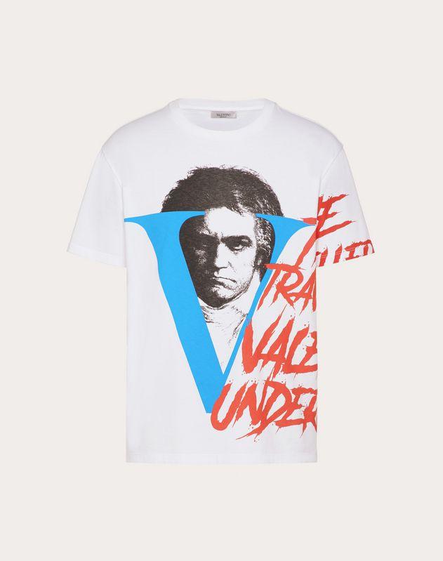 Tシャツ VVV プリント