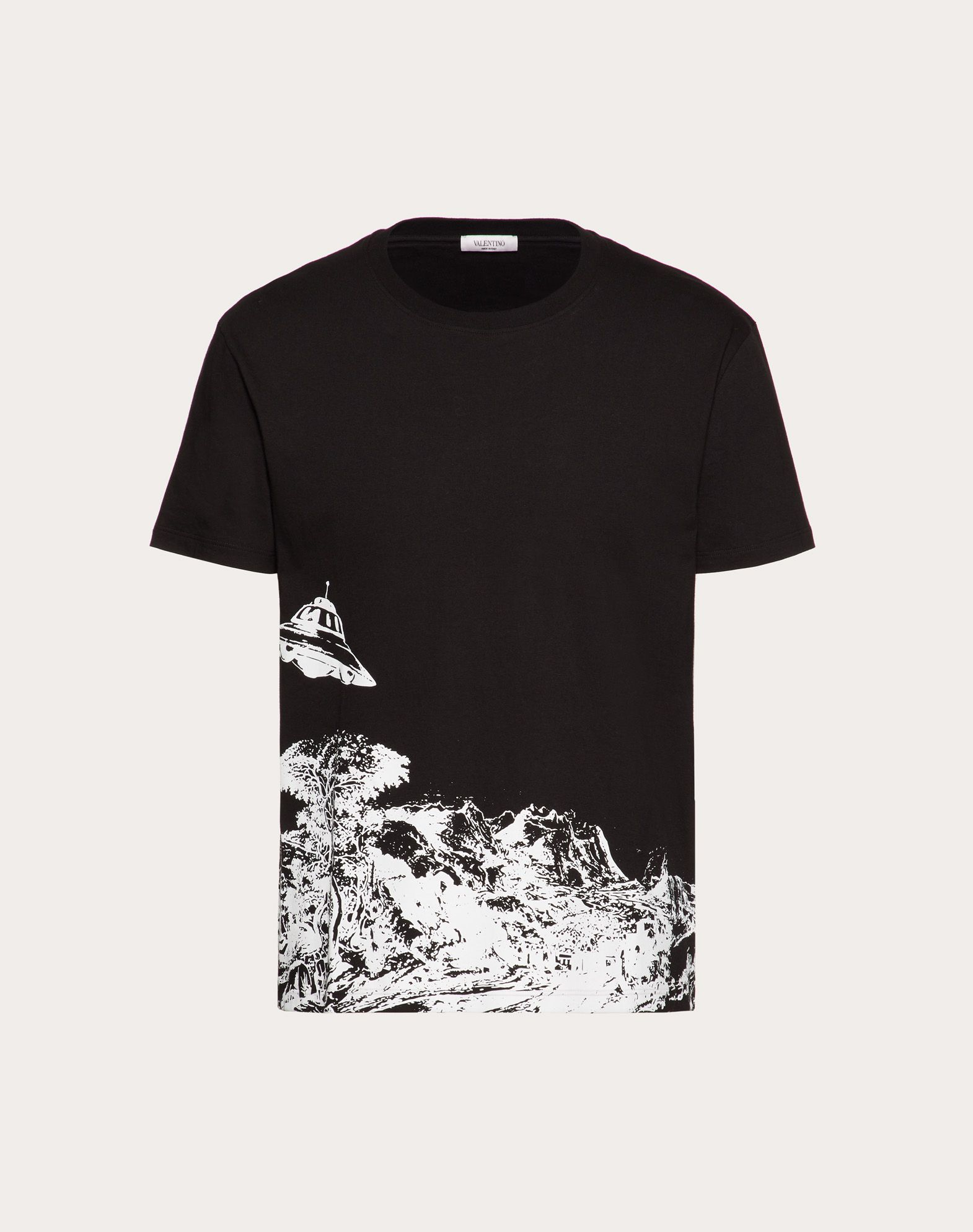T-SHIRT WITH TIME TRAVELLER PRINT